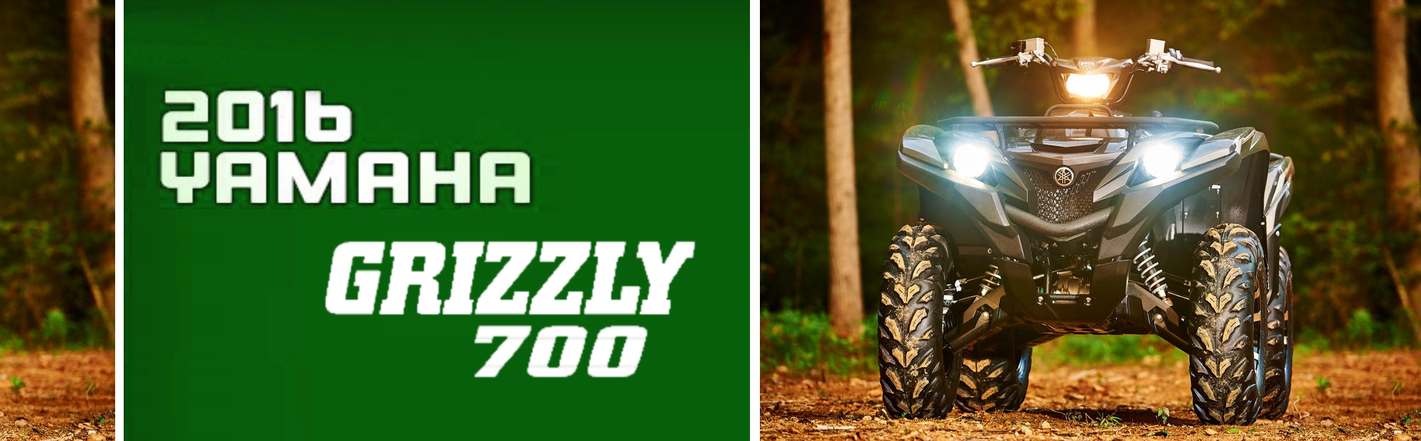 Grizzly 700 2016