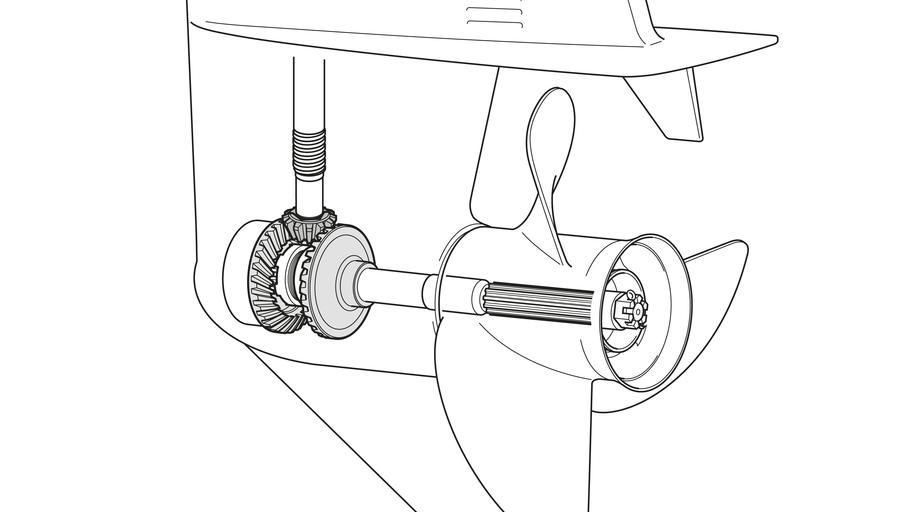 что такое усилие на винте у лодочного мотора