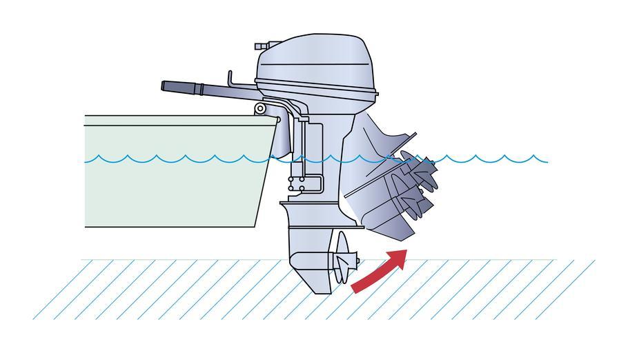 подвесные моторы по мелким рекам